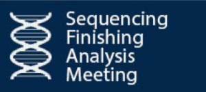 Sequencing Finishing Analysis Meeting Logo